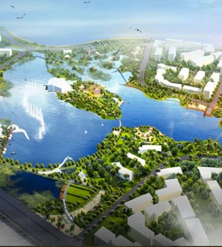 斑马湖三期海绵设施设计