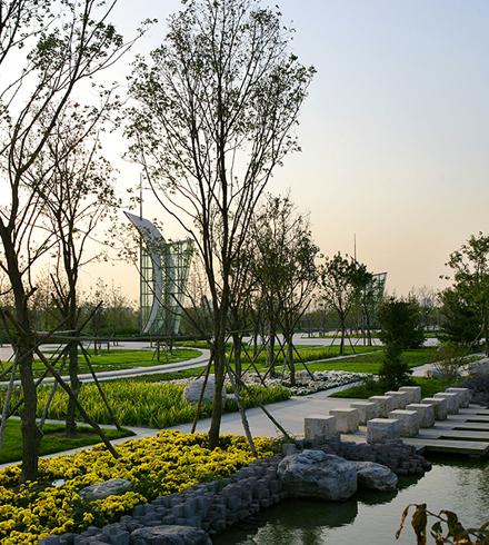 北京通州运河文化广场
