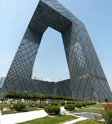 北京中央电视台新台址