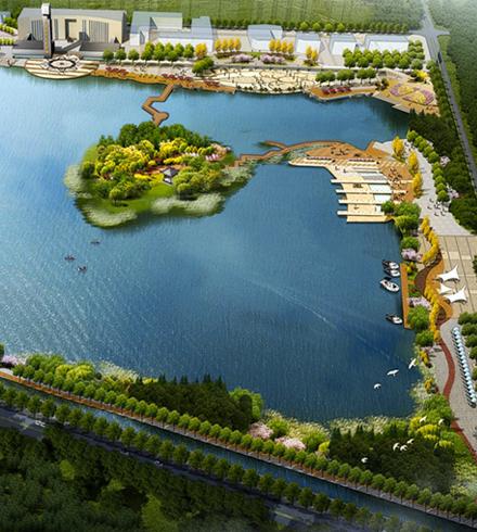 常德市西湖公园生态景观空间规划项目
