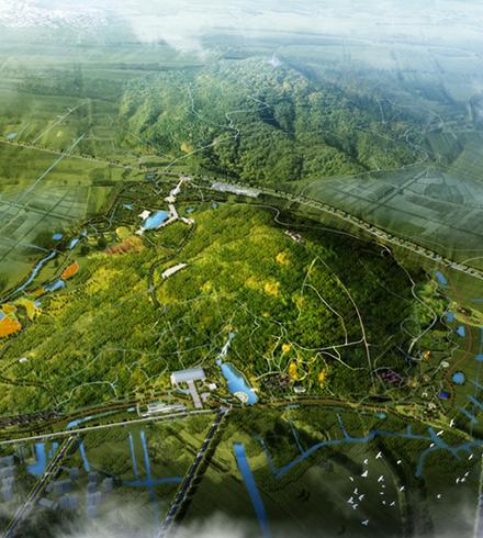巢湖市旗山生态景观规划项目整体效果