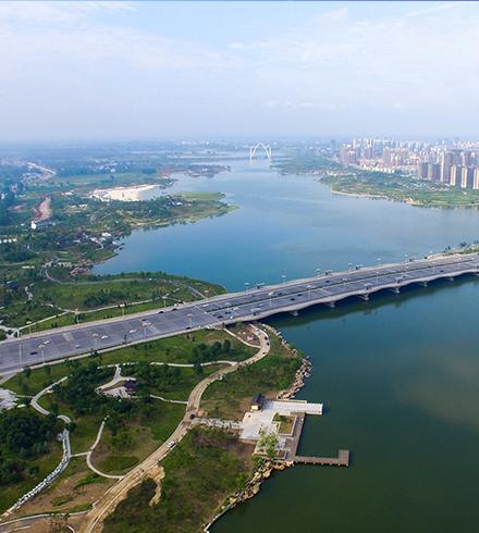 河南开封汴西湖湿地景观工程