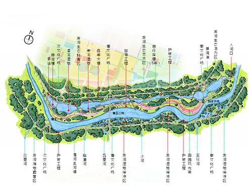 欧式园林景观平面图