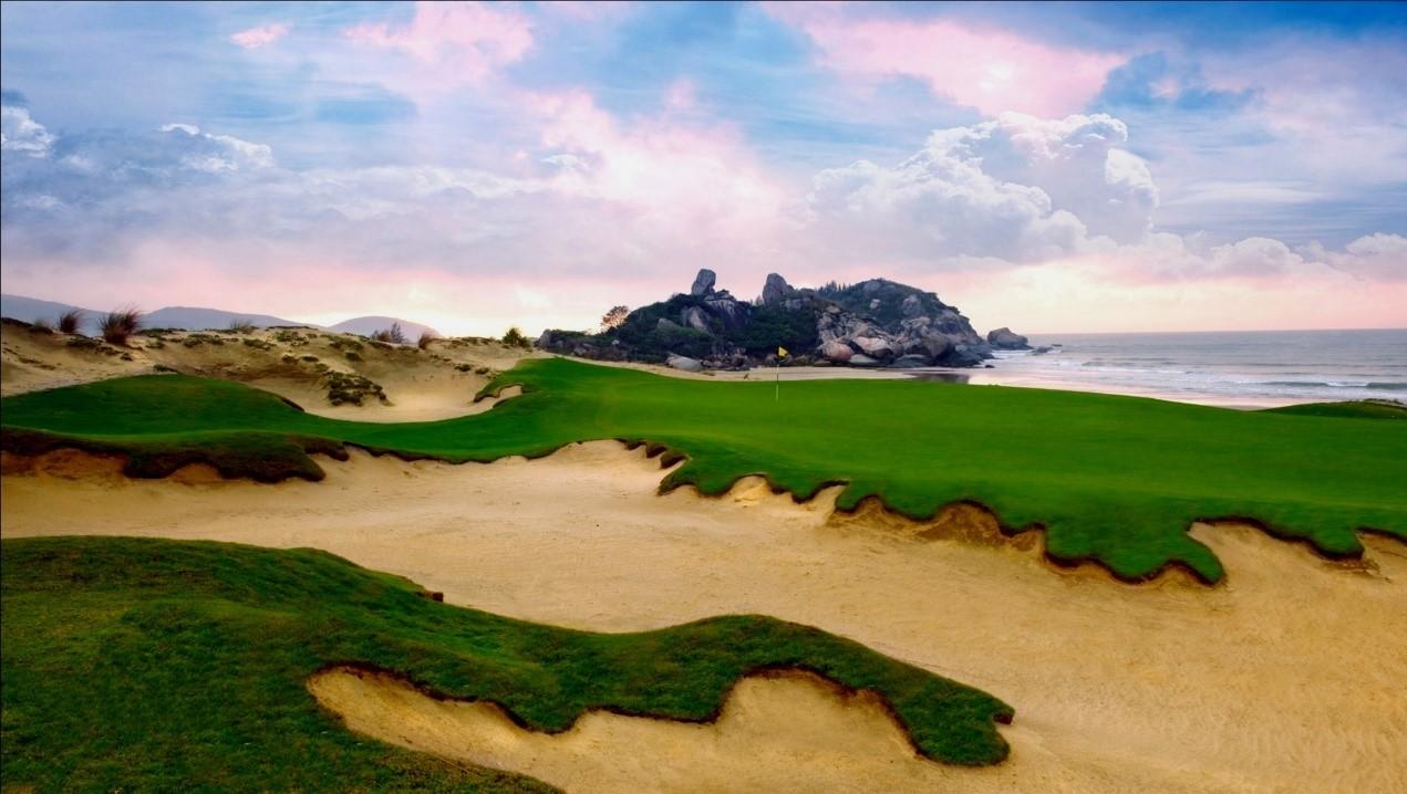 海南万宁神州半岛高尔夫球场